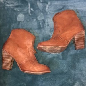 Aldo brown booties